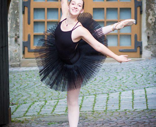 Wie eine Ballerina!