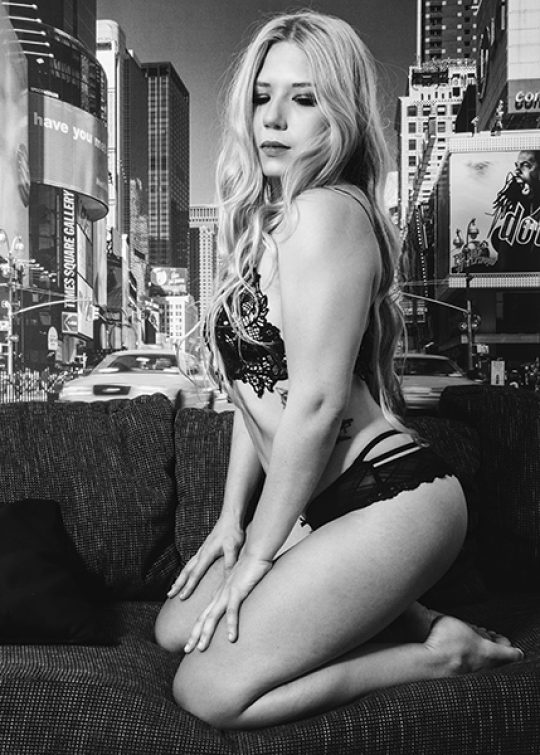 Sex and the City - Dessous Shooting mit Annka