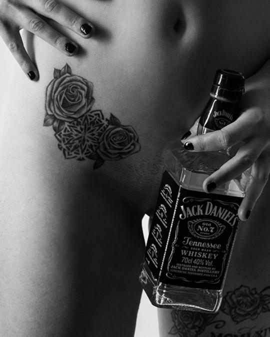 Akt Shooting - Tattoo - Jack Daniels